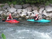 Wildwassertraining mit KKM in Sande