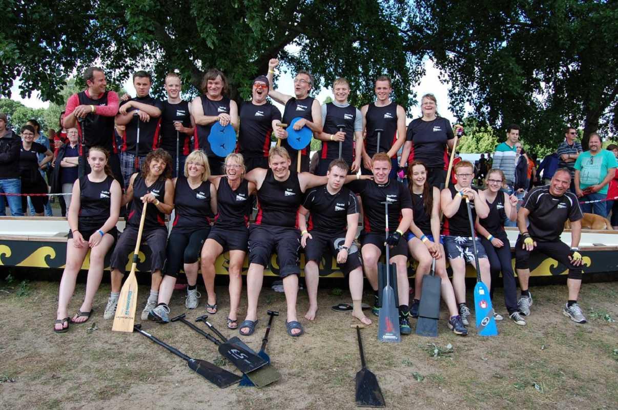Rising Sun beim 12 Bremer Drachenboot Cup