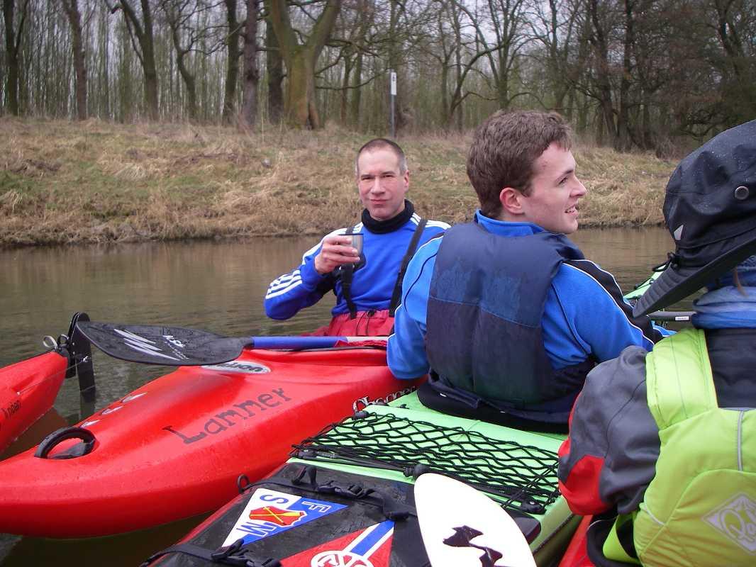 Anwassern des Rings der Wassersportfreunde