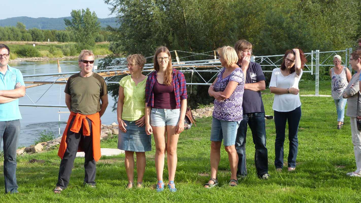 Einweihung Kanu-Slalom-Strecke