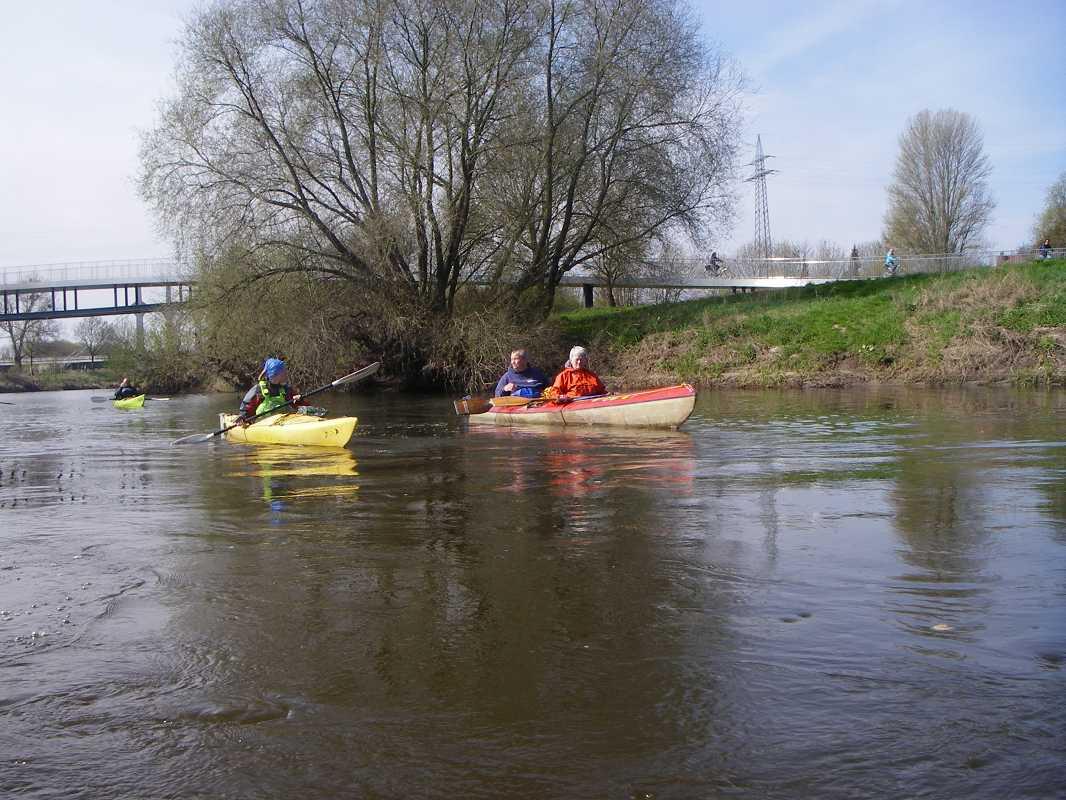 Sonntagsfahrt Werre-Weser